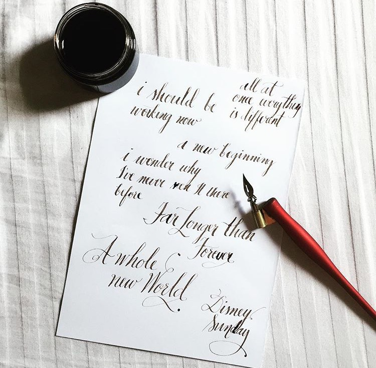 Loving the Walnut Ink!