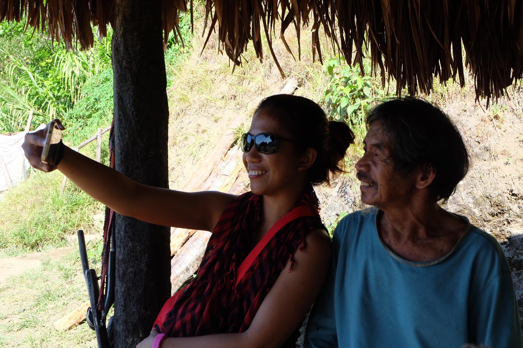 Selfie with Mang Charlie